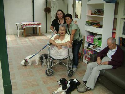 VISITA AL HOGAR ADULTO MAYOR SANTA MARIA DE MORAVIA