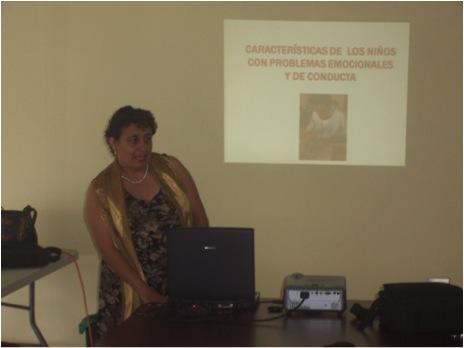 TALLER EN LA ESCUELA NEUROPSIQUIÁTRICA INFANTIL DE MORAVIA.